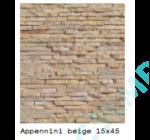 APPENNINI   BEIGE               15X45X 1,5-3 CM  6 DB/DOBOZ