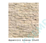 APPENNINI BIANCO              15X45X 1,5-3 CM  6 DB/DOBOZ