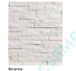 SPACATELLO   BIANCO           10X35X 0,7-1,5 CM   8 DB/DOBOZ