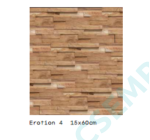 WOOD CLADDING  EROTION 4                15X60X 2-3 CM  10 DB/DOBOZ