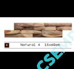 WOOD CL   NATURAL 4               15X60X 2-3 CM  10 DB/DOBOZ