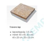 BRADSTONE TRAVERO LAP (3,3-3,7 CM) 40X20 BEIGE MELÍROZOTT