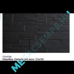 ONTARIO JET NEGRO 33X50