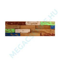 WOOD CLADDING     COLOUR 4             15X60X 2-3 CM  10 DB/DOBOZ