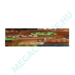 WOOD CLADDING    COLOUR 8              15X60X 2-3 CM  10 DB/DOBOZ